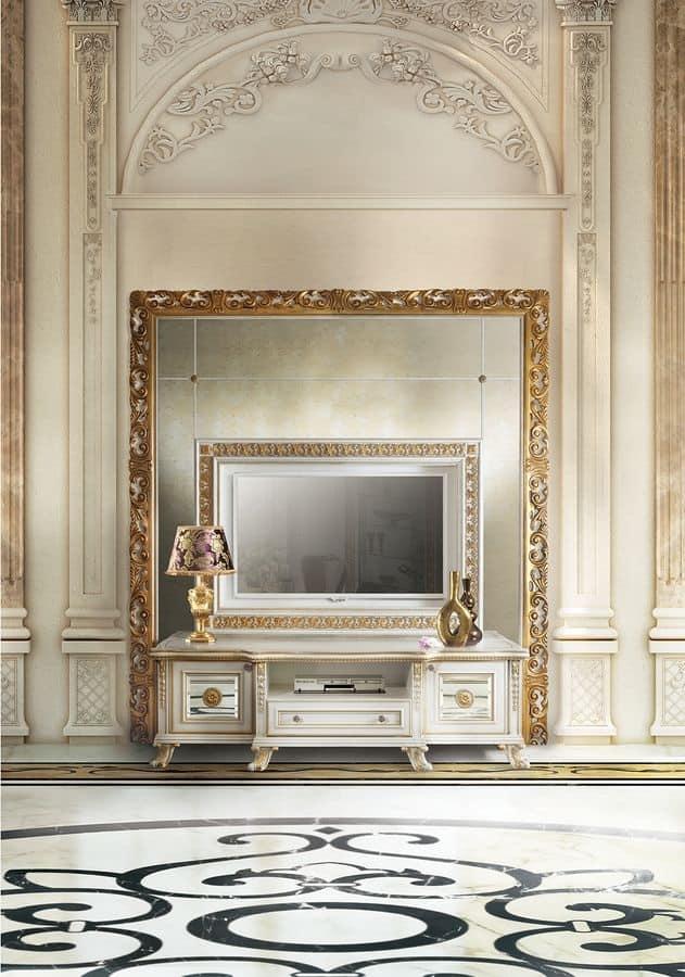 Mobile porta TV classico di lusso   IDFdesign