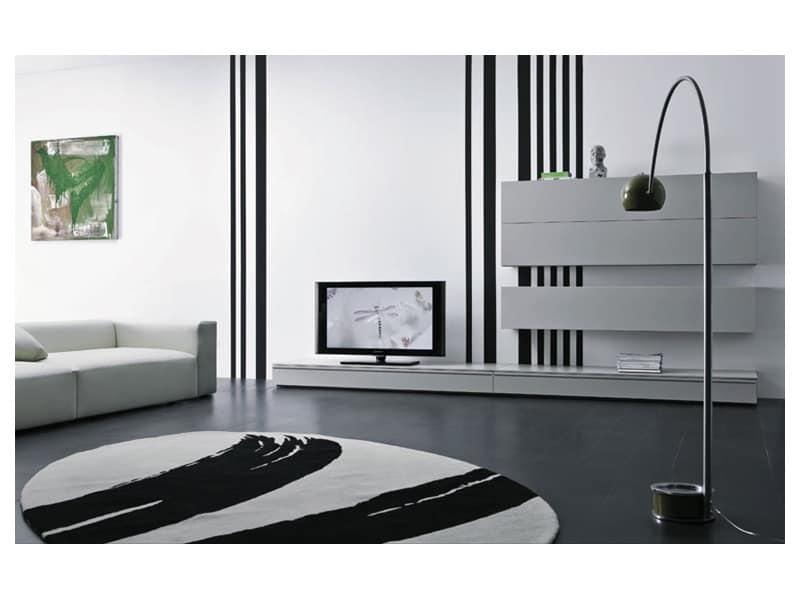 Contenitori Soggiorno Design : Box - Segni 01, Mobili contenitori per ...