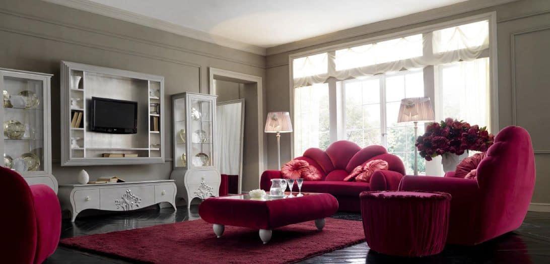 Mobili da soggiorno, stile classico contemporaneo  IDFdesign