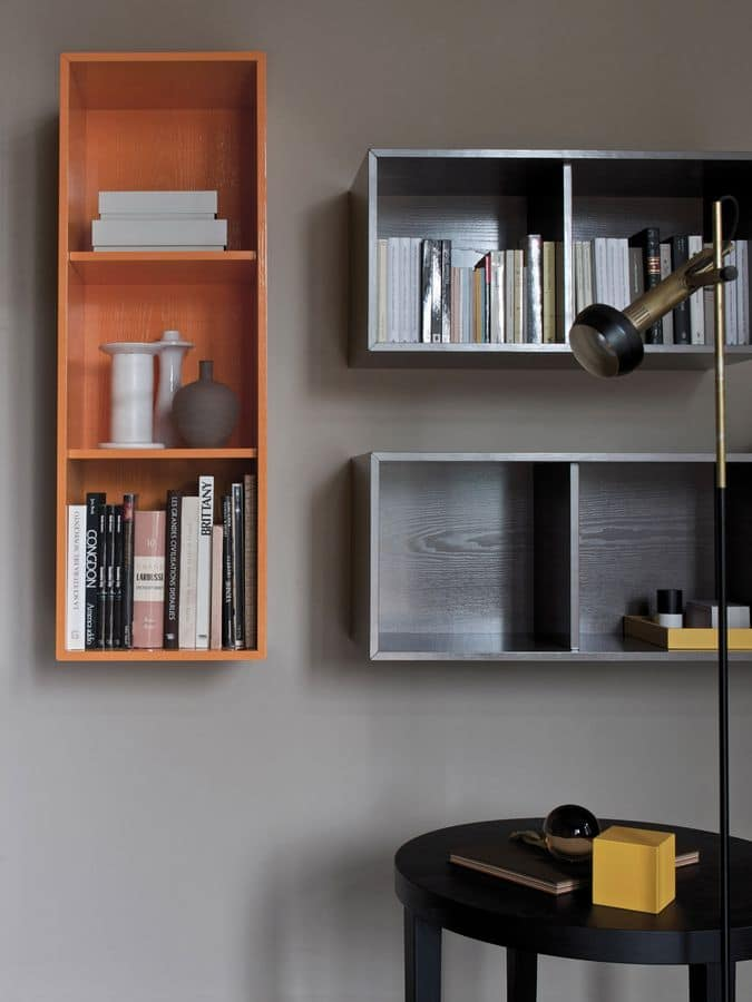 Mobile componibile da soggiorno, composizione personalizzabile  IDFdesign