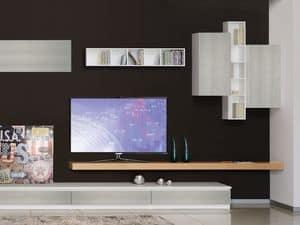 Arredo sistemi modulari e pareti attrezzate idfdesign - Mobili porta tv economici ...