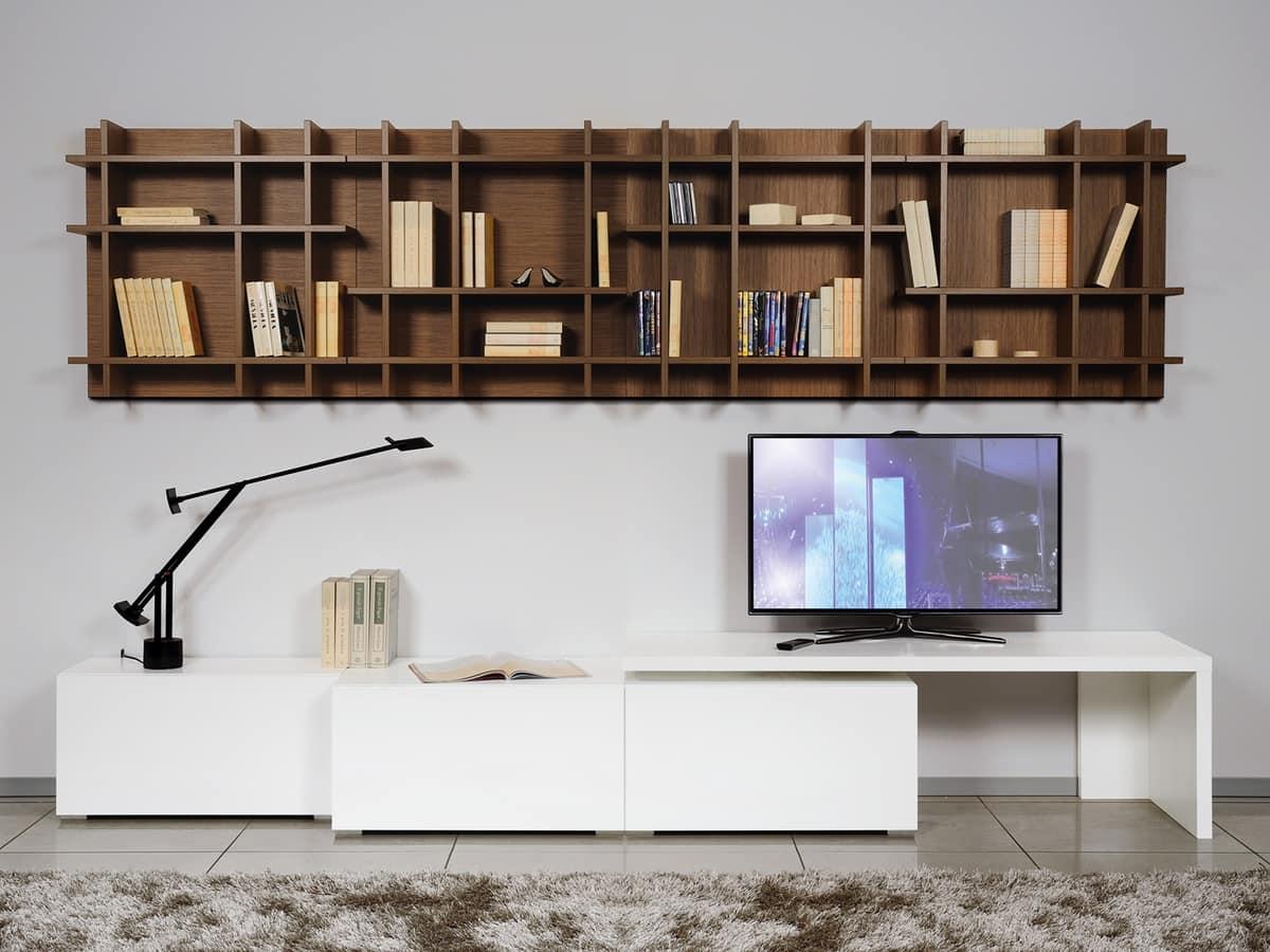 Arredamento modulare per salotti in stile minimalista idfdesign