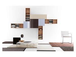 mobili pensili soggiorno mobili sistemi modulari salotto idf