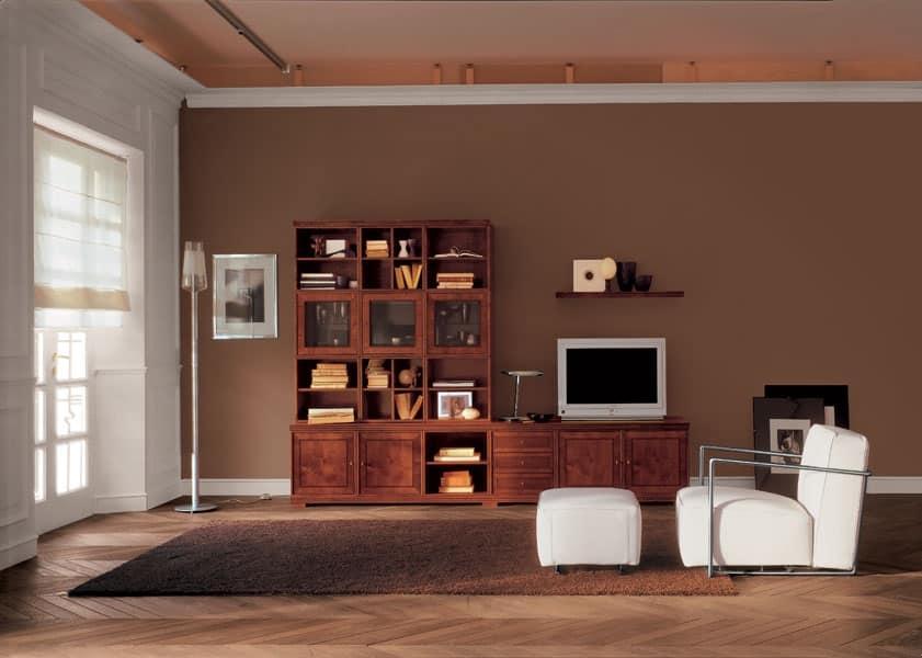 Mobile contenitore sala tv idfdesign for Mobile sala design
