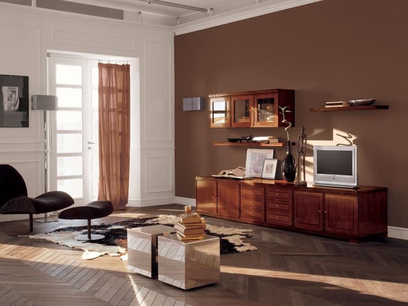 Mobile soggiorno arancione idee per il design della casa - Mobile soggiorno design ...