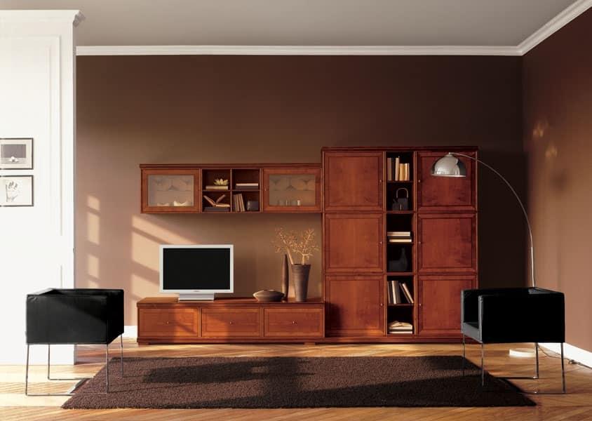 Mobili Design Living: Soggiorno consigli arredo librerie mobili contenitori di design.