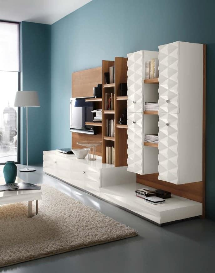 Mobile per soggiorno in stile classico contemporaneo | IDFdesign