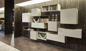 Domino Concept, Mobile da parete per salotto