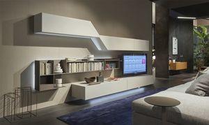 Domino Concept, Mobile soggiorno dal design dinamico