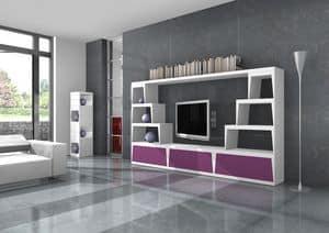 Egon, Mobile design porta tv per soggiorno alla moda