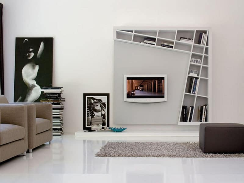 Mobile per soggiorno area conversazione idfdesign for Mobile sala design