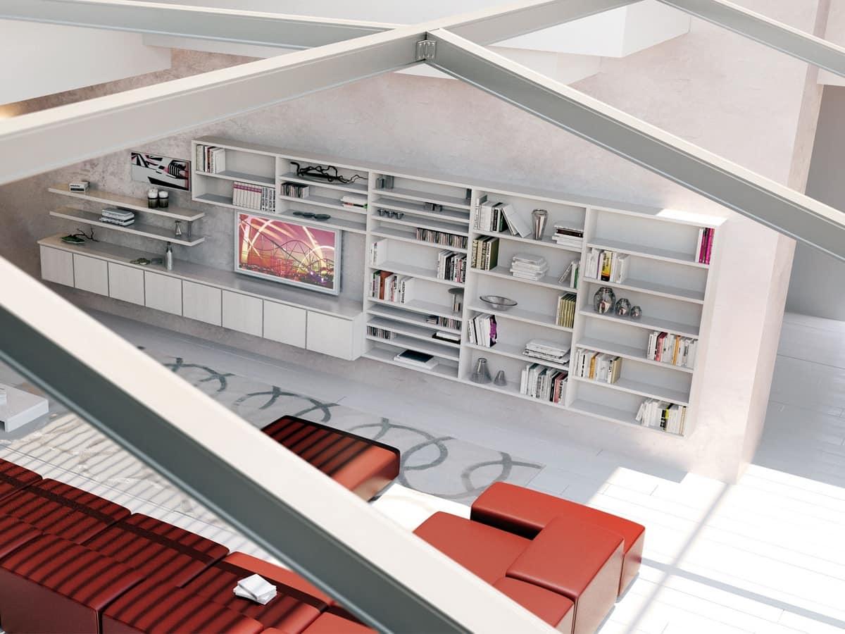 HOME P10 Moderno Prodotti Mobili Sistemi modulari salotto Moderni