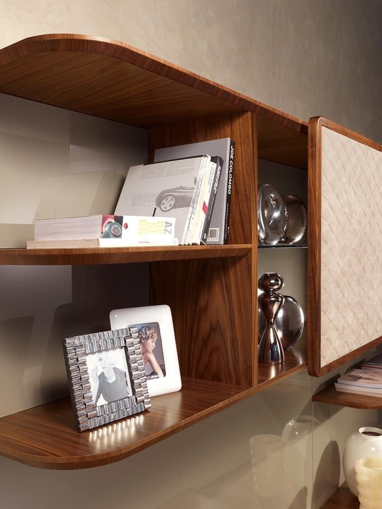 Mobile soggiorno con porta tv in stile contemporaneo - Carpanelli mobili ...