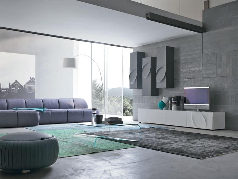 Mobili sistemi modulari salotto moderni idfdesign for Mobili salotto design