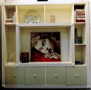 Immagine di Mobile componibile Barberini, ideale per sala lettura