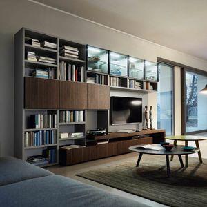 Modo M5C59, Libreria con porta tv