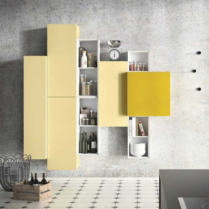 Mobile design componibile per soggiorno moderno | IDFdesign