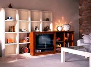 Immagine di Scanzia SC 137, mobili contenitori per zona giorno