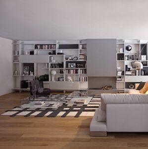 Set System Giorno, Mobile per soggiorno, riccamente personalizzabile