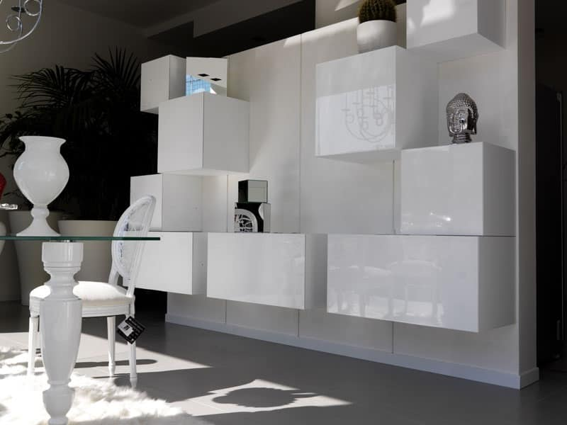 Sistema modulare per arredo idfdesign for Immagini mobili soggiorno