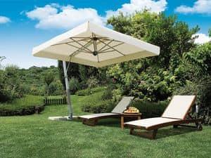 Firenze braccio, Grande ombrellone di forma quadrata