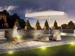 Milano standard, Ombrellone per giardino