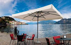 Napoli standard, Ombrellone per chiosco, telaio in alluminio, leggero