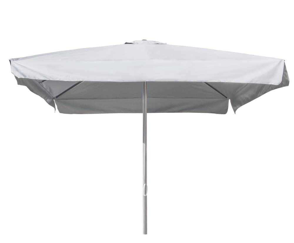 Ombrellone palo centrale giardino piscina Marte – MA300UFR, Ombrellone con stecche rinforzate anti-vento
