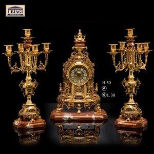 200M150, Orologio in bronzo placcato in oro