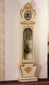 Art. 1068, Orologio a pendolo laccato, stile Barocco