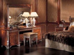 165, Pouf classico di lusso, per camere d'albergo