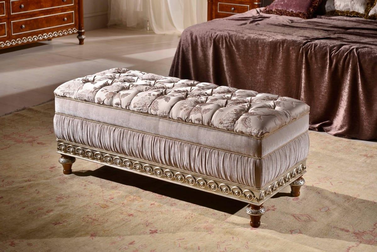 Panca imbottita per camera da letto | IDFdesign