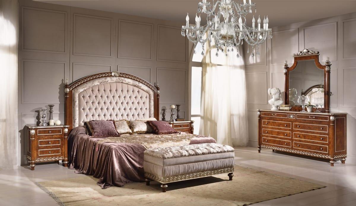 Panca imbottita per camera da letto idfdesign - Centri per camera da letto ...