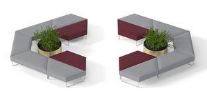 FORMAT, Sedute modulari imbottite per sale d'attesa
