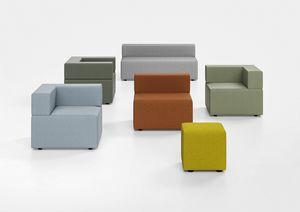 Kuadra, Panca imbottita per zone attesa e Stazioni moderne