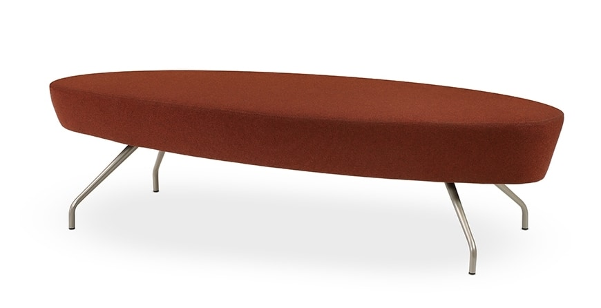 Panca moderna con seduta circolare, per reception | IDFdesign