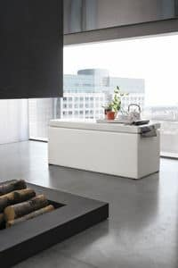 ORIGAMI SP103, Panca contenitore ideale per ambienti residenziali moderni