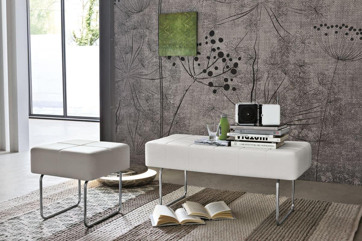 Panca Imbottita Design : Panca imbottita con braccioli design casa creativa e mobili