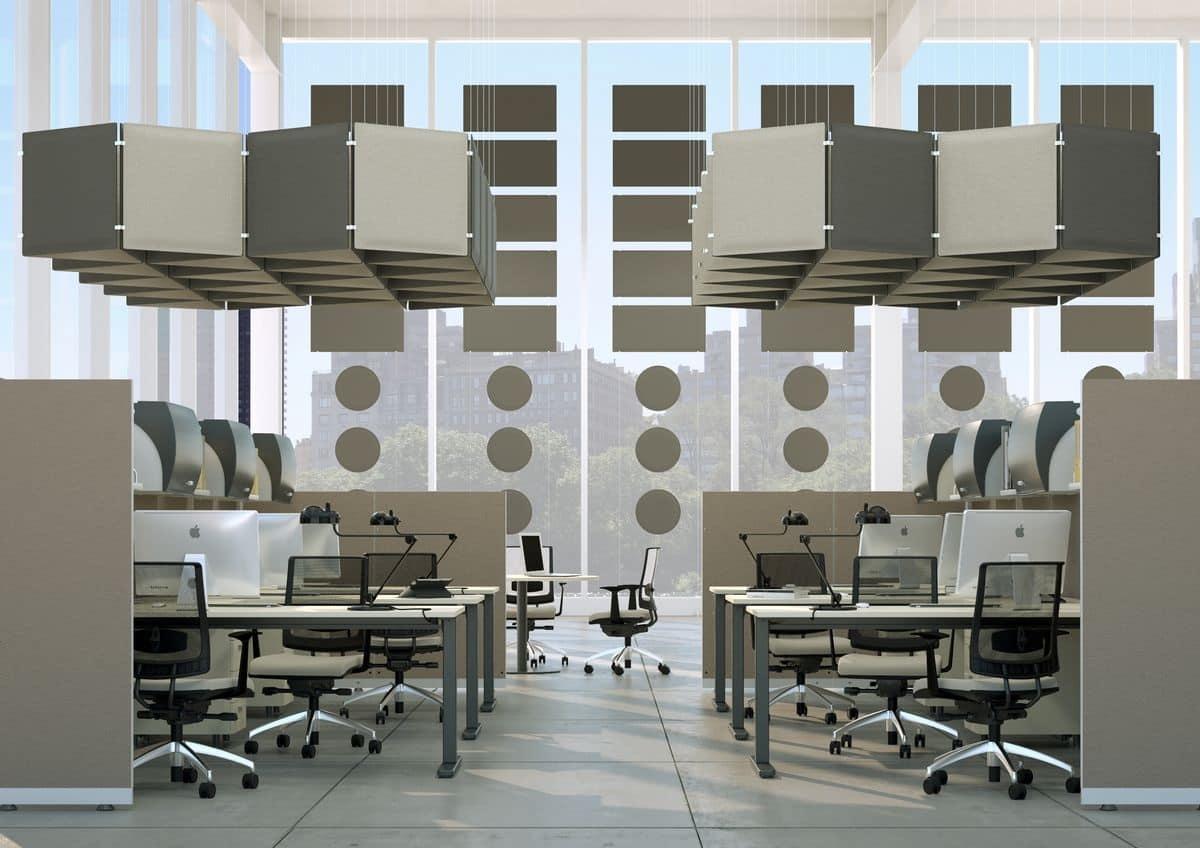 Pannello fonoassorbente componibile vari colori disponibili idfdesign - Pannelli fonoassorbenti decorativi ...