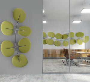 Botanica, Pannelli fonoassorbenti a forma di foglia