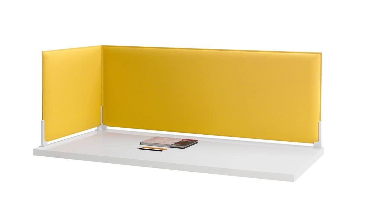 Pannelli divisori fonoassorbenti per scrivania idfdesign for Pannelli divisori per ufficio prezzi