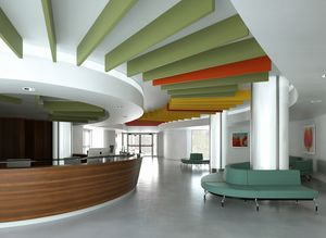 Caruso Acoustic by Lamm Srl, Applicazione a soffitto