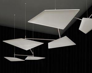 Flap Chain, Sistema per sospensione a soffitto di pannelli fonoassorbenti