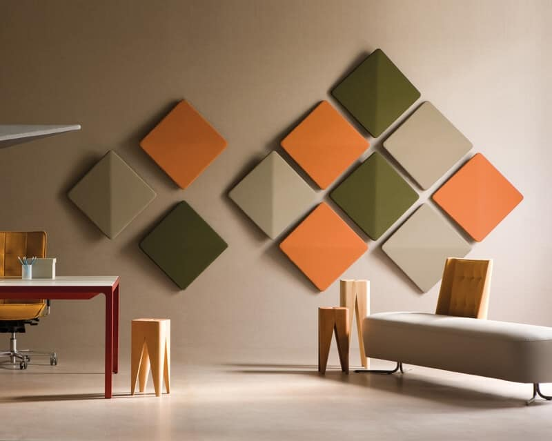 Pannelli fonoassorbenti per uffici open space e sale - Pannelli decorativi fonoassorbenti ...