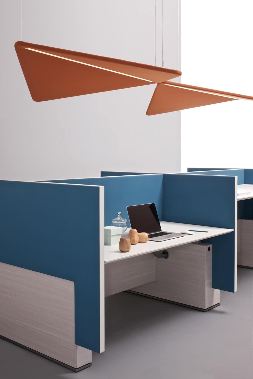 Pannelli fonoassorbenti per uffici open space e sale riunioni idfdesign - Pannelli fonoassorbenti decorativi ...