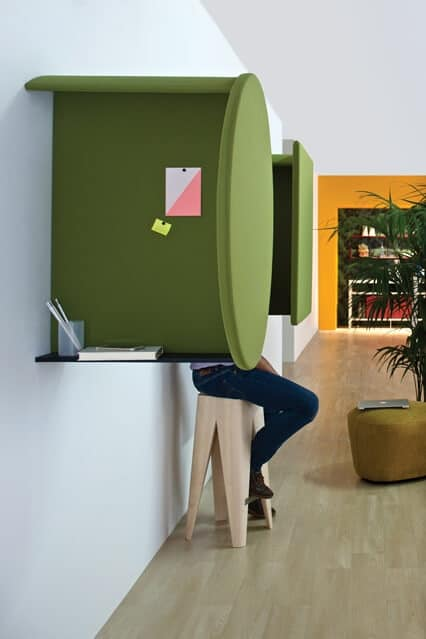Pannelli acustici fonoassorbenti per angolo telefonate - Pannelli decorativi fonoassorbenti ...