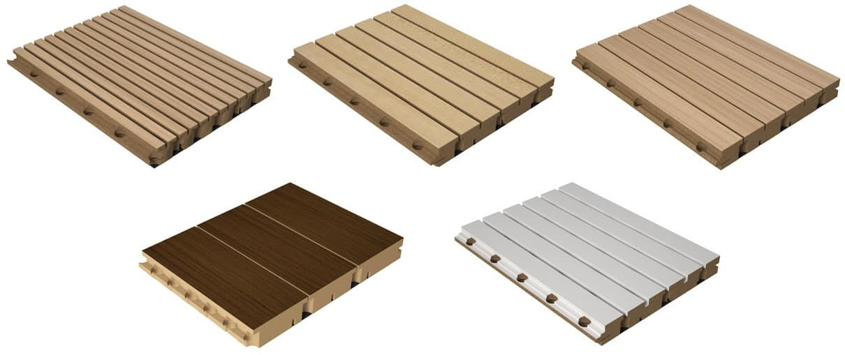 Pareti modulari in legno