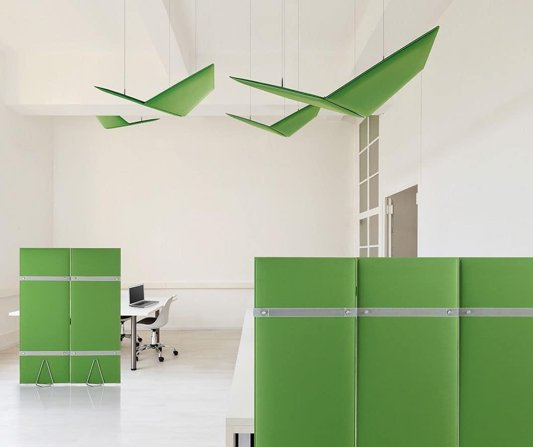 Pli, Divisorio fonoassorbente per uffici