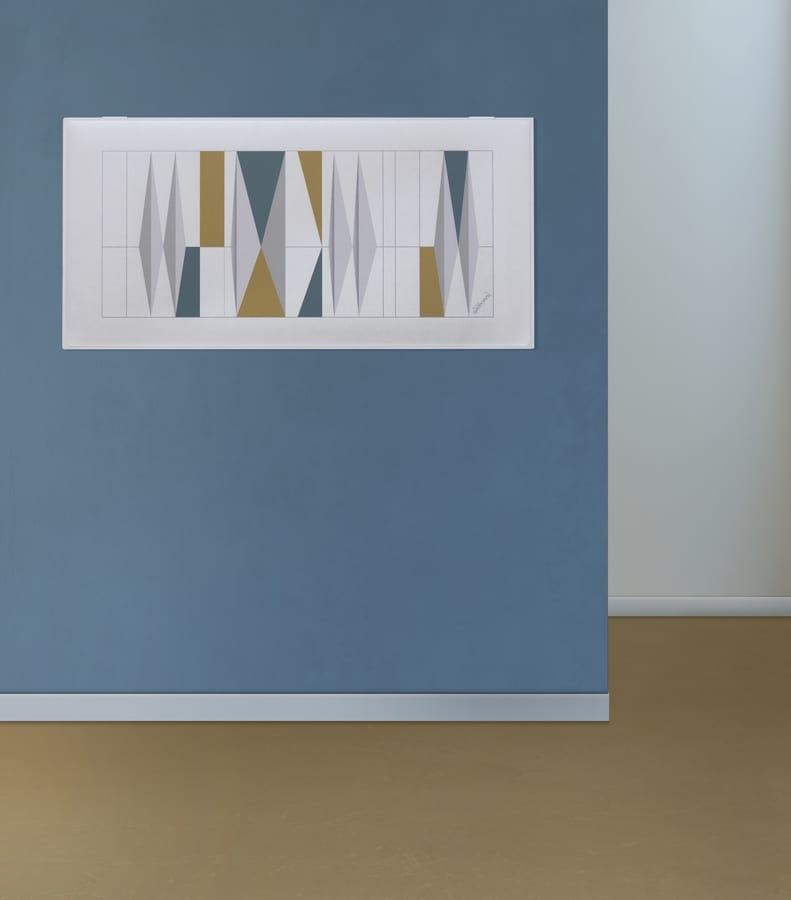 Snowsound art - Gio Ponti, Pannelli fonoassorbenti con disegni di Gio Ponti