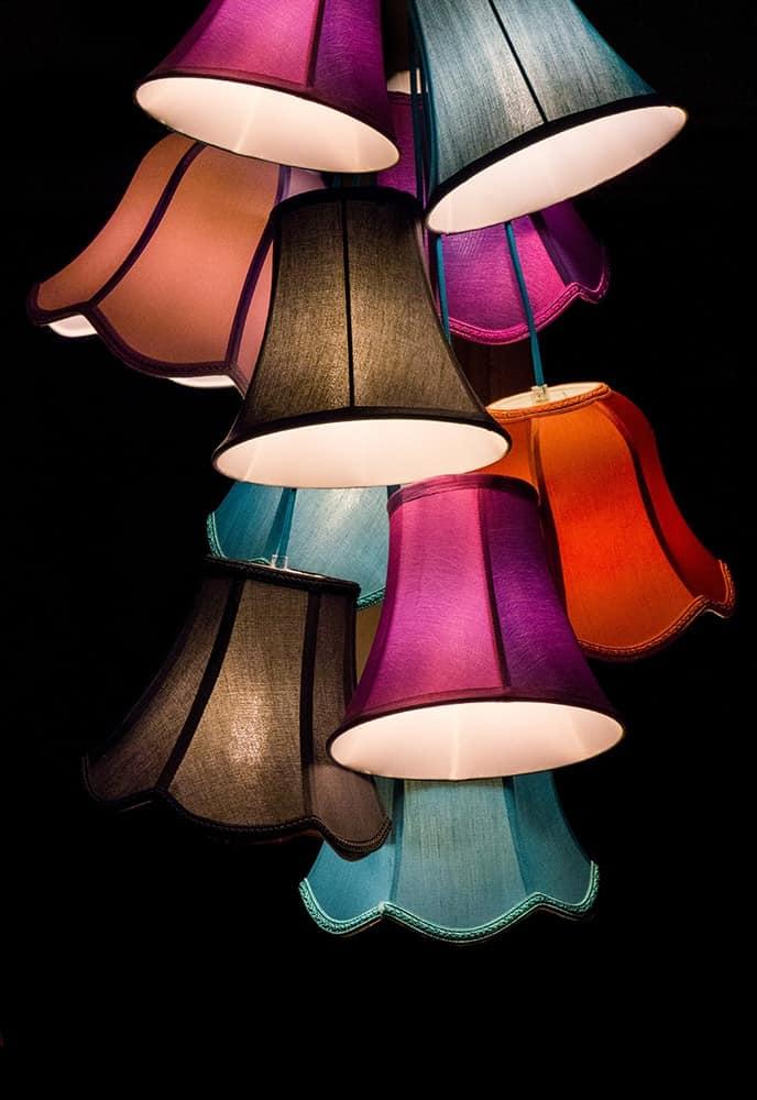 Paralumi in tessuto, per lampade a sospensione | IDFdesign